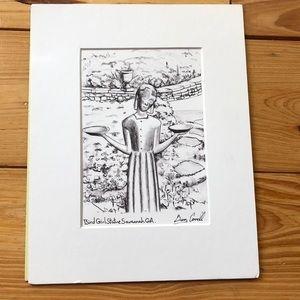 Other - Bird Girl Statue Savannah Georgia Print